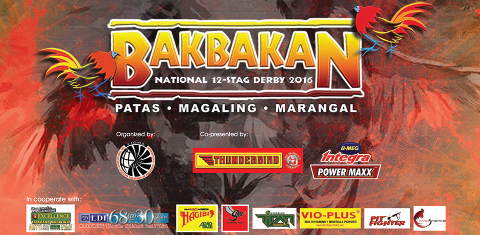 FIGBA NFGB BAKBAKAN 2016, National Stag Derby